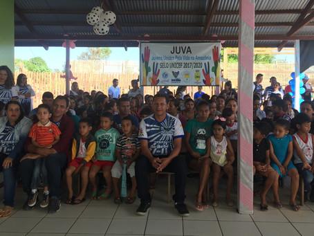 Chegam ao fim as ações do Programa SELO UNICEF 2017/2020 no município de Marechal Thaumaturgo
