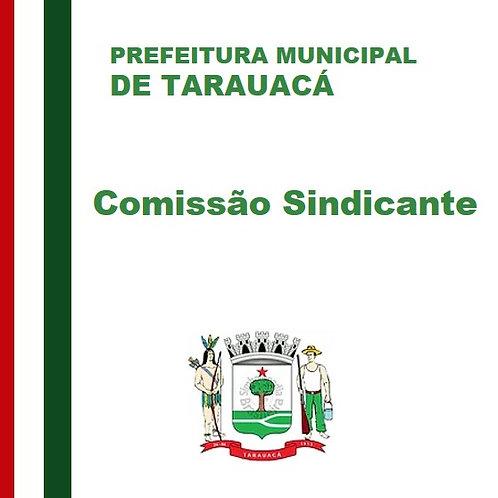 Ata de Instalação - COMISSÃO SINDICANTE
