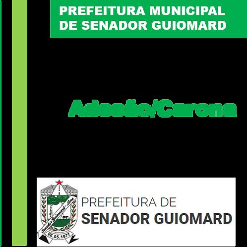 Adesão/Carona N° 008/2020 - Fornecimento e Reposição de Peças