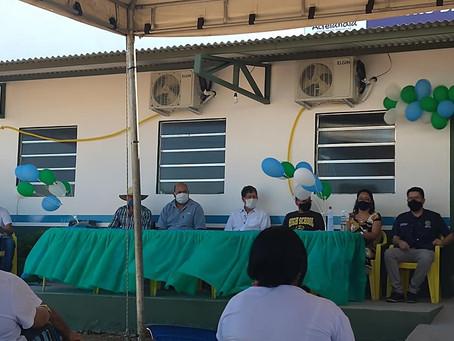 Ederaldo Caetano inaugura primeiro CAPS em Acrelândia