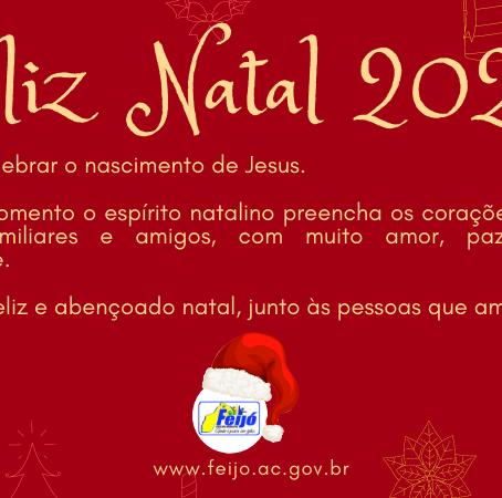 Prefeitura de Feijó deseja um Feliz Natal 2020