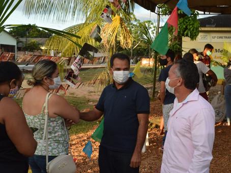 Rodrigues Alves realiza mutirão/arrasta-pé da vacinação e fortalece o enfrentamento à Covid-19