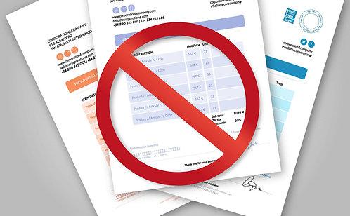Cancelamento de Débitos