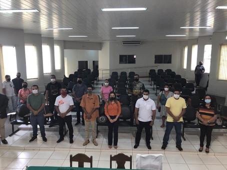 Em reunião com os presidentes de sindicatos, a prefeita Fernanda Hassem anunciou reposição salarial
