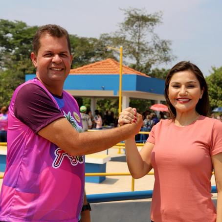 Prefeito Kiefer e Deputada Jéssica Sales, presenteiam população de Feijó com Orla Municipal
