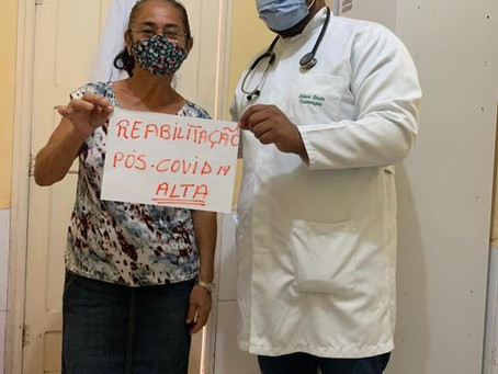 Prefeitura oferece fisioterapia respiratória para reabilitação de pessoas afetadas pela Covid-19