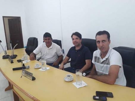 Presidente da Câmara se reúne com empresa de transporte coletivo Senador Guiomard/Rio Branco