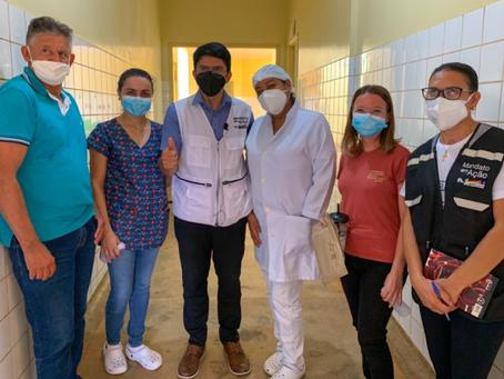 """Acrelândia recebe campanha """"Máscaras pela Vida"""" e garante apoio do gabinete de Jenilson Leite"""