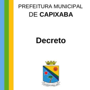 Decreto n° 02/2021 - Nomear o senhor Antônio Nilson Silva Gomes