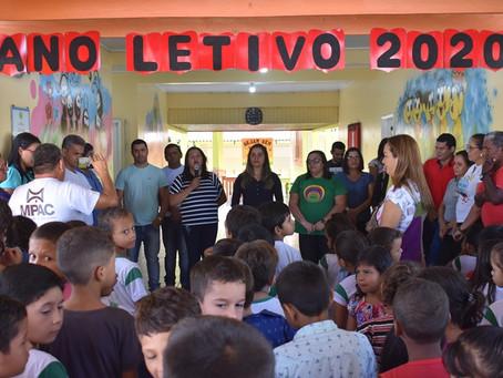 Prefeitura de Brasiléia realizada abertura do Ano letivo 2020 em Brasiléia