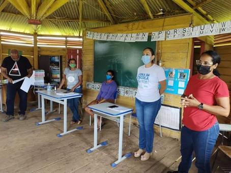 Prefeitura de Xapuri inicia reforma das escolas de zona rural