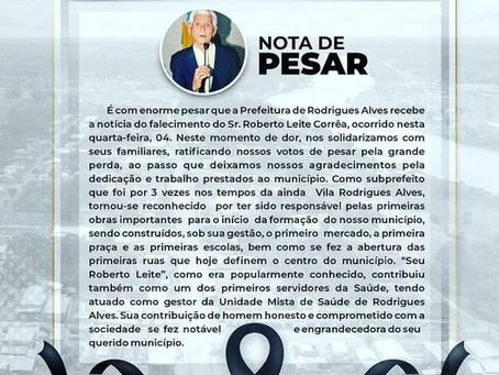 Nota de Pesar: Roberto Leite Corrêa
