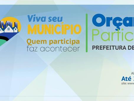"""Participe da elaboração do PPA do Município de Manoel Urbano. """"Faltam três dias!"""