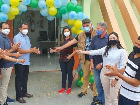 Gestão dos filhos de Marechal Thaumaturgo inaugura três grandes obras de infraestrutura