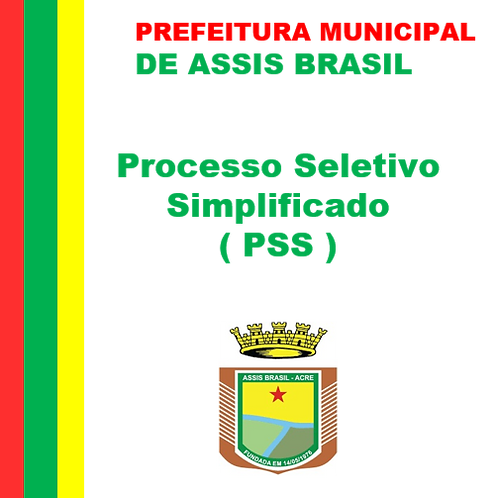 PSS N° 003/2021 - Saúde, Assistência Social e Meio Ambiente.