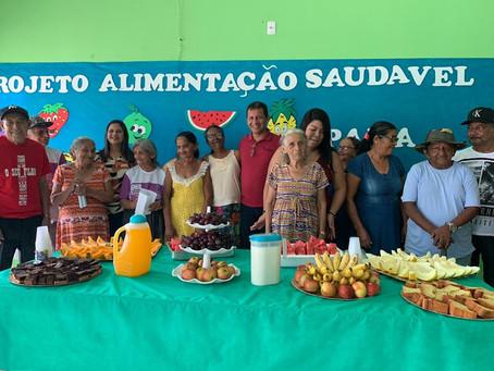 Prefeitura em parceria com Centro de idoso realiza ação aos amigos da terceira idade