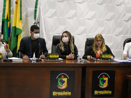 Prefeita Fernanda Hassem Participa do Reinicio das Sessões no Poder Legislativo