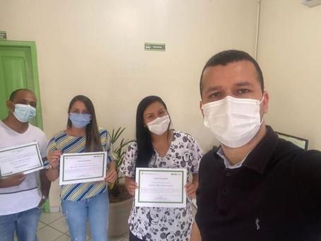 Servidores da Saúde Municipal de Xapuri participação de capacitação sobre o exame de PPD/Tuberculose