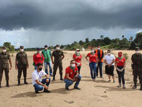Rodrigues Alves - Prefeitura recebe donativos do Programa Mesa Brasil do Sesc Acre