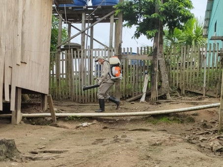 Prefeitura através da secretaria de saúde intensifica as ações de prevenção ao mosquito da dengue