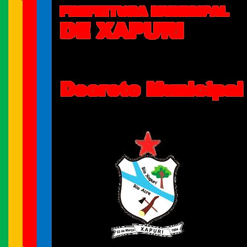 Decreto Nº 661/2020 - Exoneração do Diretor de Convênios da Prefeitura