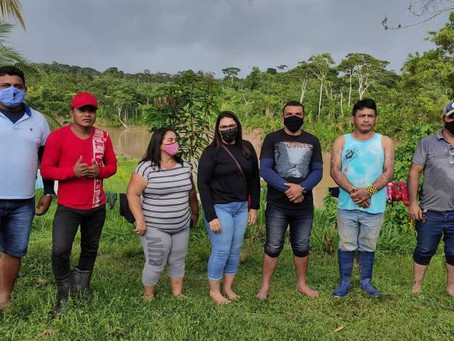 Prefeito Naudo visita aldeias para garantir melhorias no abastecimento de água