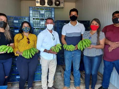 Vereadores reforçam o trabalho da caravana da produção no Quinari