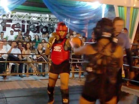 Box em Marechal Thaumaturgo é atração da segunda noite do 4º Festival do Feijão