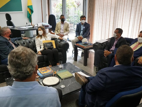 Prefeito de Rodrigues Alves tem garantidas emendas parlamentares federais para 2021