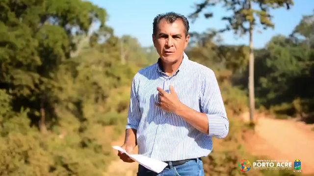 Prefeito Bené Damasceno agradece Senador Márcio Bittar por emendas para Porto Acre