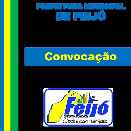Edital de Convocação de Servidor nº 001/2018