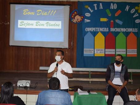 Educação Municipal de Rodrigues Alves realiza jornada formativa para a Educação Rural