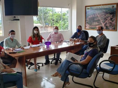 Administração Municipal discute pautas importantes com equipe e fecha semana com agendas positivas
