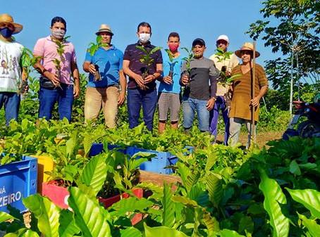 Prefeito lança projeto de apoio a cafeicultura em Marechal Thaumaturgo