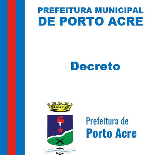 Decreto n° 1.889/2021 - Nomear o senhor, FRANCISCO GERÔNIMO LOPES FORTES