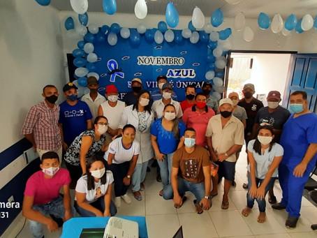 Novembro azul: Prefeitura de Feijó reforça importância dos cuidados a saúde do homem
