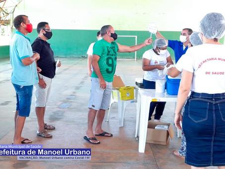 Secretaria Municipal de Saúde, inicia agenda de vacina contra covid-19