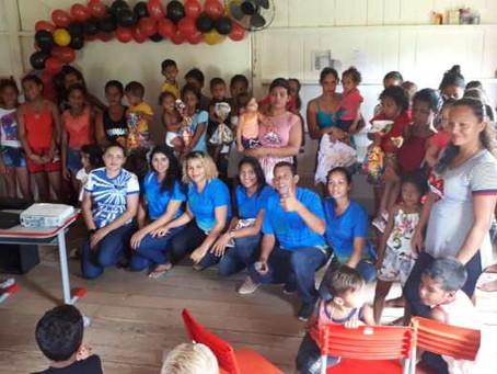 Prefeitura de Marechal Thaumaturgo promove atividade em alusão ao Dia da Criança