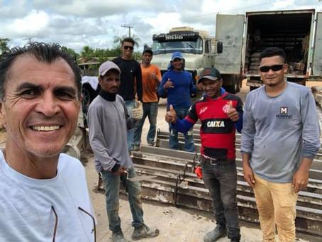 Prefeitura firme na execução de obras de melhoria na rua José Fernandes na Vila do V