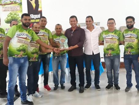 Prefeitura junto com a SEMATUR apoiam ações da 1° etapa do projeto Meio Ambiente