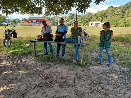 Vigilância visita Seringal Iracema e orienta população sobre raiva humana e animal