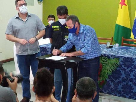 Agenda positiva: Acrelândia receberá investimentos de 2,1 milhão para reforma e ampliação na saúde