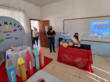 Prefeita Rosa Gomes Busca parceria ao Programa de Volta ao Novo