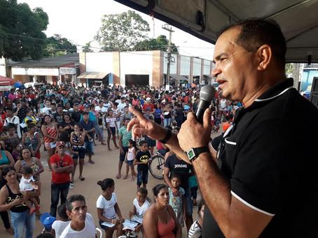 Prefeito realiza abertura da programação de 43 anos de Manoel Urbano