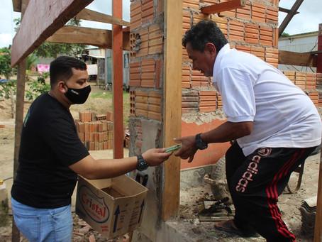 Prefeitura de Brasiléia realiza entrega de máscaras para a população