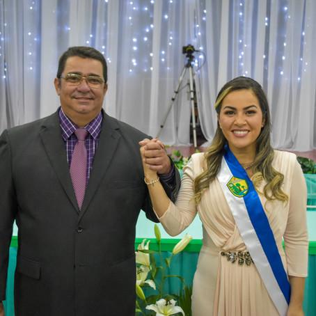 Fernanda Hassem e Carlinhos tomam posse para mandato 2021-2024