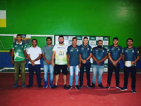 Rodrigues Alves - Prefeito Jailson Amorim participa da abertura do Campeonato Rodriguense de Futsal