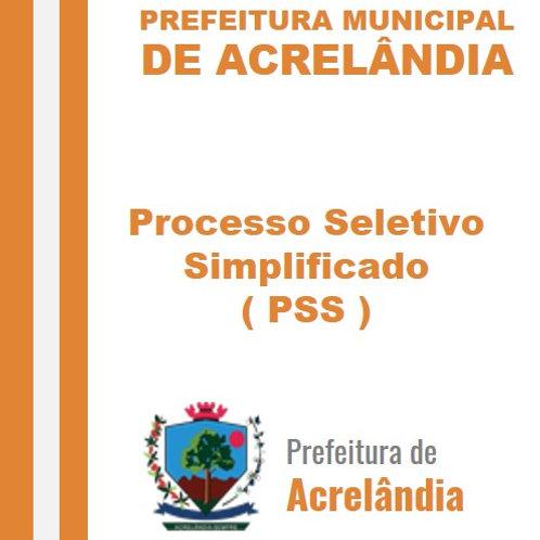 PSS 001/2020 -  Chamada Pública - Premiação Cultural