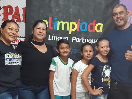 Estudante da Escola Socorro Frota vai representar Brasiléia na fase estadual das Olimpíadas
