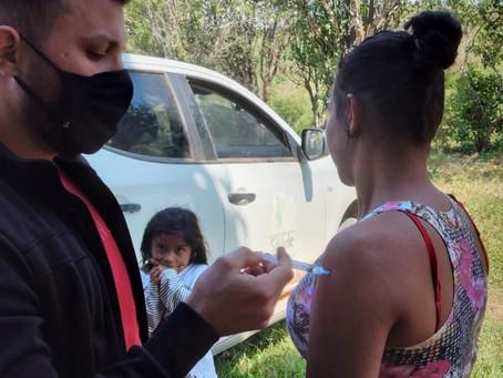 Prefeitura imuniza comunidades do São Vicente, Olho D'água e projeto Tocantins